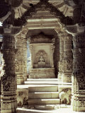 Dillawara Temple, Mount Abu, Rajasthan State, India Photographic Print by John Henry Claude Wilson