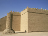 City Walls, Babylon, Iraq, Middle East Photographic Print by Nico Tondini