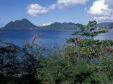 View Over Morne Larcher, Baie De La Chery (Chery Bay), Martinique Photographic Print by Guy Thouvenin