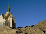 Felsenkirche, Evangelical Lutheran Church, Luderitz, Namibia, Africa Photographic Print by Steve & Ann Toon