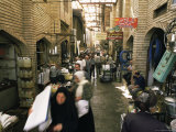 The Bazaar, Baghdad, Iraq, Middle East Photographic Print by Nico Tondini