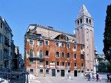 Church of San Vidal, Venice, Veneto, Italy Photographic Print by Guy Thouvenin