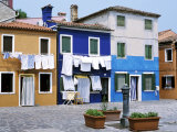 Burano, Venice, Veneto, Italy Photographic Print by Guy Thouvenin