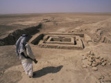 Anu Temple, Uruk, Iraq, Middle East Photographic Print by Nico Tondini