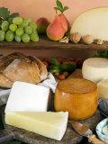 Italian Cheeses, Italy Photographic Print by Nico Tondini