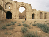 Iwan Group, Hatra, Unesco World Heritage Site, Iraq, Middle East Photographic Print by Nico Tondini