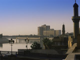 River Tigris, Baghdad, Iraq, Middle East Photographic Print by Nico Tondini