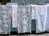 Famous Lace, Burano, Venice, Veneto, Italy Photographic Print by Guy Thouvenin