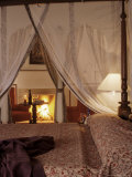 Guest Bedroom, Samode Palace Hotel, India Photographic Print by John Henry Claude Wilson