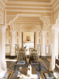 Chanwar Palki Walon-Ki Haveli (Mansion), 400 Years Old, Restored to Its Original State, Amber Photographic Print by John Henry Claude Wilson