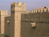 Boundary Wall, Nineveh, Iraq, Middle East Photographic Print by Nico Tondini