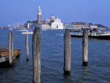 Venice from the Lagoon, Unesco World Heritage Site, Venice, Veneto, Italy Photographic Print by Guy Thouvenin
