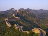 The Great Wall, Near Jing Hang Ling, Unesco World Heritage Site, Beijing, China Lámina fotográfica por Adam Tall