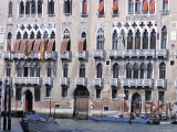 Palaces Along the Grand Canal, Venice, Veneto, Italy Photographic Print by Guy Thouvenin