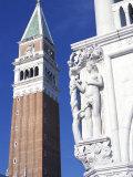 Campanile, Piazza San Marco (St. Mark's Square), Unesco World Heritage Site, Venice, Veneto, Italy Photographic Print by Guy Thouvenin
