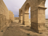 Portico of the South Entrance, Hatra, Unesco World Heritage Site, Iraq, Middle East Photographic Print by Nico Tondini