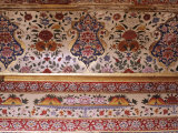 Detail of Painted Ceiling in the Sultan Mahal, Samode Palace, Samode, Rajasthan State, India Photographic Print by John Henry Claude Wilson