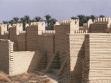 The City, Babylon, Iraq, Middle East Photographic Print by Nico Tondini