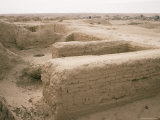 Walls, Assur (Ashur), Unesco World Heritage Site, Iraq, Middle East Photographic Print by Nico Tondini