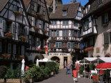 Rue Des Marchands, Colmar, Alsace, France Photographic Print by Guy Thouvenin