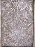 Detail of Decorative Raised Metal Work, Devi Garh Fort Palace Hotel, Devi Garh, Near Udaipur, India Photographic Print by John Henry Claude Wilson
