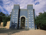 Ishtar Gate, Babylon, Iraq, Middle East Photographic Print by Nico Tondini