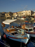 Fishing Boats, Rethymnon, Crete, Greek Islands, Greece, Mediterranean Photographic Print by Adam Tall