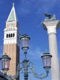 Campanile, Piazza San Marco (St. Mark's Square), Venice, Veneto, Italy Photographic Print by Guy Thouvenin