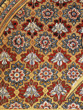 Detail of a Painted Wall in the Public Reception Area, Kuchaman Fort, Rajasthan State, India Photographic Print by John Henry Claude Wilson