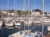 Tudy Harbour, Ile De Groix, Brittany, France Photographic Print by Guy Thouvenin