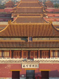 Forbidden City from Above, Beijing, China Photographic Print by Adam Tall
