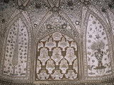 Interior Decorative Detail, Amber Fort, One of the Great Rajput Forts, Amber, Near Jaipur, India Photographic Print by John Henry Claude Wilson