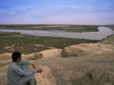 Tigris River, Iraq, Middle East Photographic Print by Nico Tondini