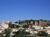 Castel Dos Mouros Overlooking Town, Silves, Algarve, Portugal Photographic Print by Tom Teegan