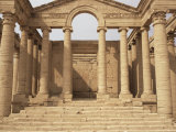 Temple of Mrn, Hatra, Unesco World Heritage Site, Iraq, Middle East Photographic Print by Nico Tondini