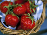 Strawberries in a Basket Photographic Print by Steve & Ann Toon