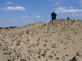 Piles of Stone for Good Luck, Kunya Urgench, Turkmenistan, Central Asia Photographic Print by Occidor Ltd