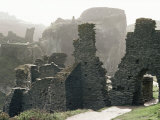 Tintagel Castle, Cornwall, England, United Kingdom Photographic Print by Adam Woolfitt