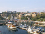Boats in the Harbour, Antalya, Anatolia, Turkey Photographic Print by Alison Wright