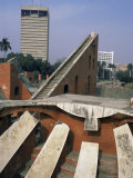 The Jantar Mantar Observatory, Delhi, India Photographic Print by John Henry Claude Wilson