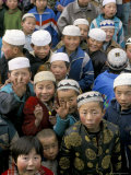 Strong Muslim or Hui Presence, Gansu Province, China Photographic Print by  Occidor Ltd