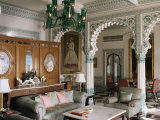 The Shiv Niwas Palace Hotel, Udaipur, Rajasthan State, India Photographic Print by John Henry Claude Wilson
