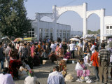 Central Market, Samarkand, Uzbekistan, Central Asia Photographic Print by  Occidor Ltd