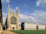 King's College, Cambridge, Cambridgeshire, England, United Kingdom Photographic Print by Adam Woolfitt