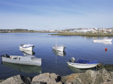 Boats in the Bay, Iqaluit, Baffin Island, Canadian Arctic, Canada Photographic Print by Alison Wright