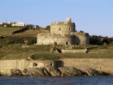 St. Mawes Castle, Cornwall, England, United Kingdom Photographic Print by Adam Woolfitt