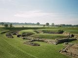 Roman Theatre, St. Albans, Hertfordshire, England, United Kingdom Photographic Print by Adam Woolfitt