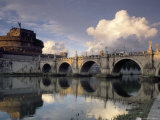 Castel St. Angelo, Rome, Lazio, Italy Photographic Print by Adam Woolfitt