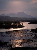 Caillich and the Cuillin Hills in the Background, Isle of Skye, Highland Region, Scotland Lámina fotográfica por Adam Woolfitt