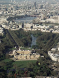 Aerial View Including Buckingham Palace, London, England, United Kingdom Photographic Print by Adam Woolfitt